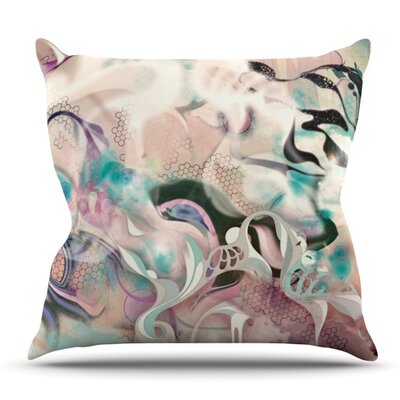 Fluidity by Mat Miller Outdoor Throw Pillow