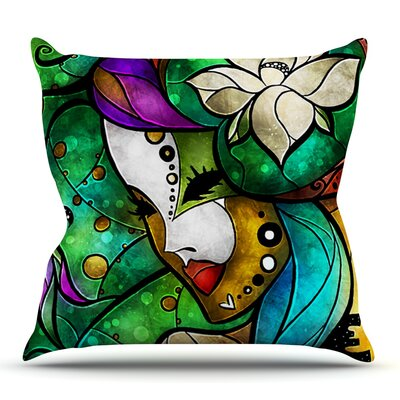 Nola by Mandie Manzano Outdoor Throw Pillow