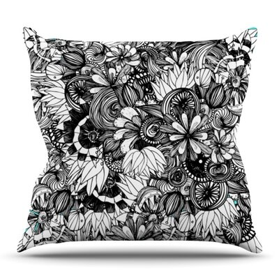 Blumen by Anchobee Outdoor Throw Pillow