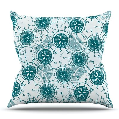 Satellite by Anchobee Outdoor Throw Pillow