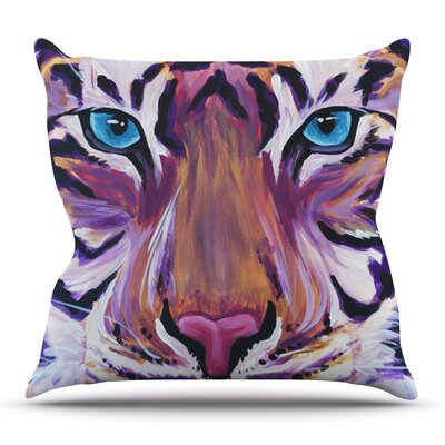 Tiger by Brienne Jepkema Outdoor Throw Pillow