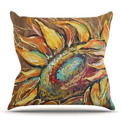 Sunflower by Brienne Jepkema Outdoor Throw Pillow