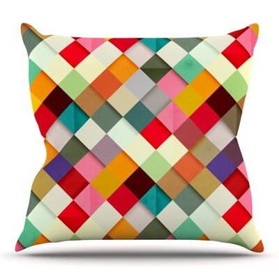 Pass This On by Danny Ivan Outdoor Throw Pillow