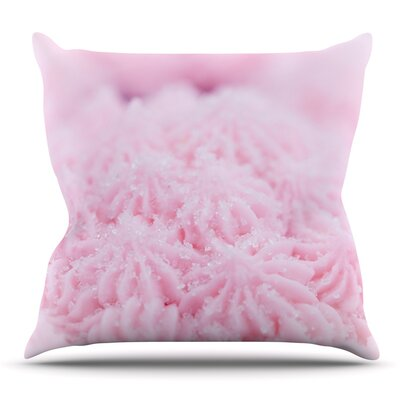 Cupcake by Debbra Obertanec Outdoor Throw Pillow