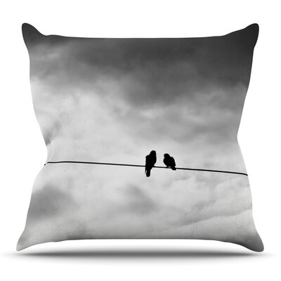 Friendship by Debbra Obertanec Outdoor Throw Pillow