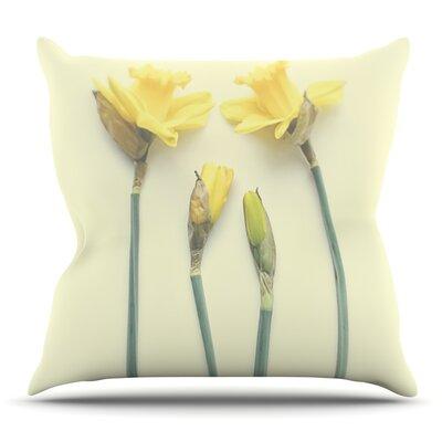 Springtime by Debbra Obertanec Outdoor Throw Pillow