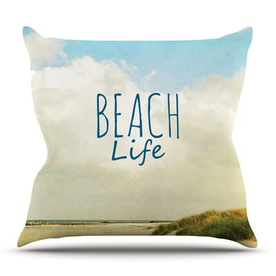 Beach Life by Iris Lehnhardt Outdoor Throw Pillow