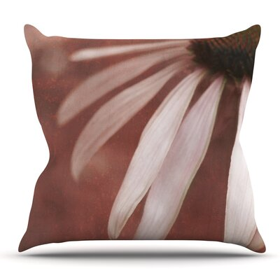 Copper and Pale by Iris Lehnhardt Outdoor Throw Pillow