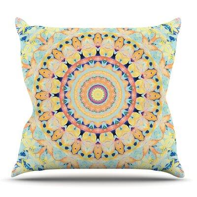 Flourish by Iris Lehnhardt Outdoor Throw Pillow