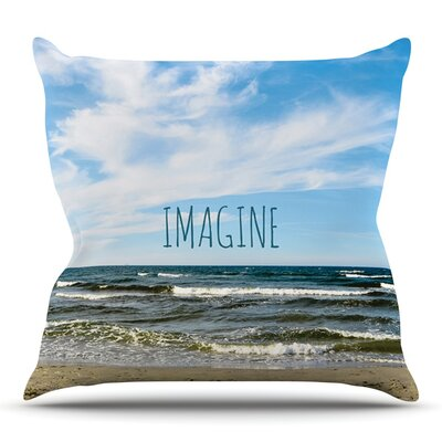 Imagine by Iris Lehnhardt Outdoor Throw Pillow