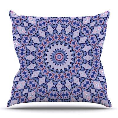 Kaleidoscope by Iris Lehnhardt Outdoor Throw Pillow