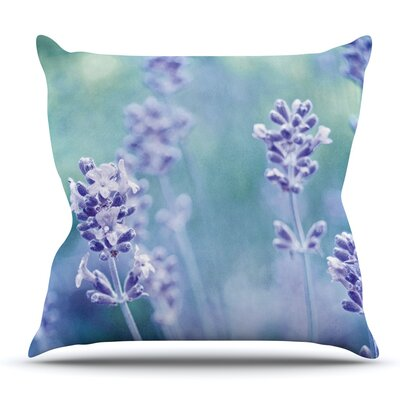 Lavender Dream by Iris Lehnhardt Outdoor Throw Pillow