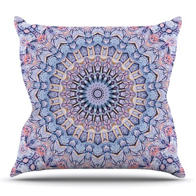 Summer Lace II by Iris Lehnhardt Outdoor Throw Pillow