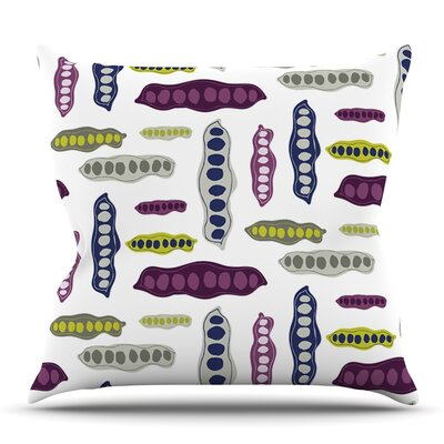 Pods by Laurie Baars Outdoor Throw Pillow