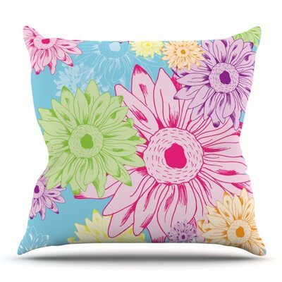Summer Time by Laura Escalante Outdoor Throw Pillow