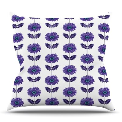 Gerbera by Laura Escalante Outdoor Throw Pillow