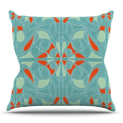 Seafoam by Miranda Mol Outdoor Throw Pillow