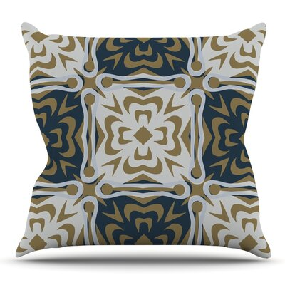 Contemporary Granny by Miranda Mol Outdoor Throw Pillow