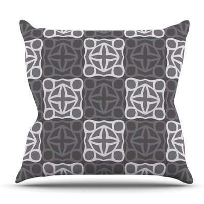 Granny Goes Modern by Miranda Mol Outdoor Throw Pillow
