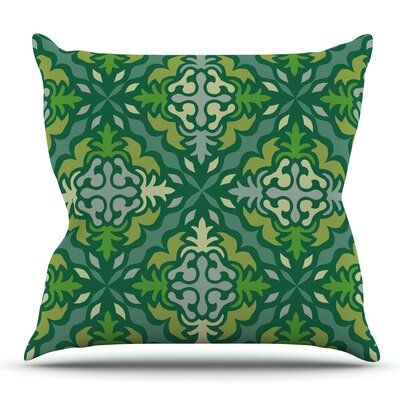 Yulenique by Miranda Mol Outdoor Throw Pillow