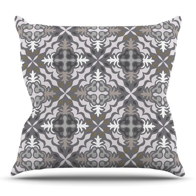 Let it Snow by Miranda Mol Outdoor Throw Pillow