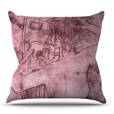 Magic Tricks by Theresa Giolzetti Outdoor Throw Pillow