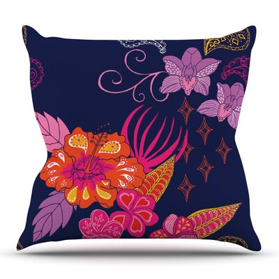 Tropical Paradise by Anneline Sophia Outdoor Throw Pillow