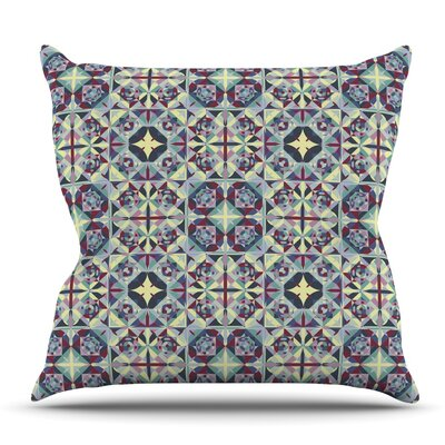 Curiousity by Allison Soupcoff Outdoor Throw Pillow
