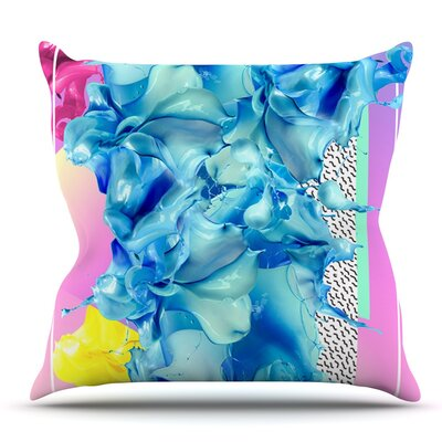 Alothea by Danny Ivan Outdoor Throw Pillow
