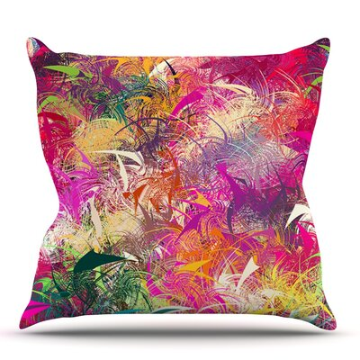 Splash by Danny Ivan Outdoor Throw Pillow