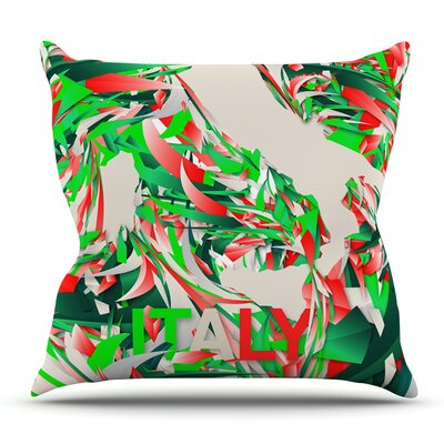 Italy by Danny Ivan Outdoor Throw Pillow