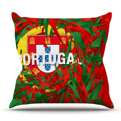 Portugal by Danny Ivan Outdoor Throw Pillow