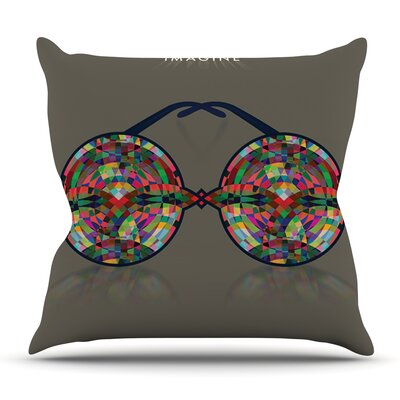 iMagine by Deepti Munshaw Outdoor Throw Pillow