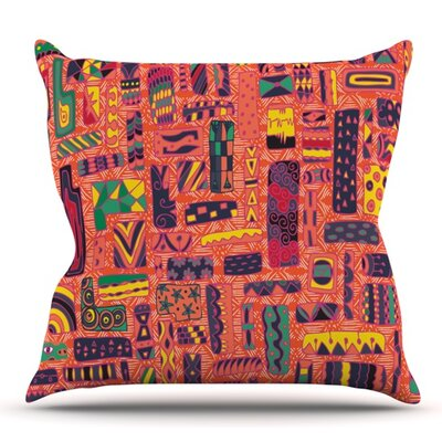 Squares by Akwaflorell Outdoor Throw Pillow