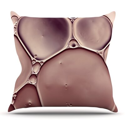 Dusty Pink by Ingrid Beddoes Outdoor Throw Pillow
