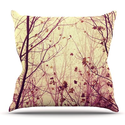 My Secret Garden by Ingrid Beddoes Outdoor Throw Pillow