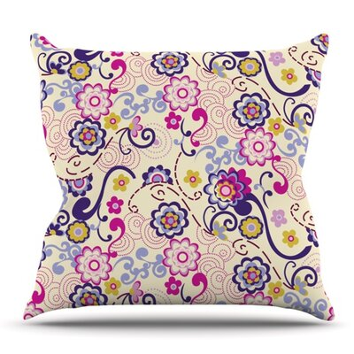Arabesque by Louise Machado Outdoor Throw Pillow