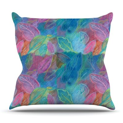 Rabisco by Louise Machado Outdoor Throw Pillow