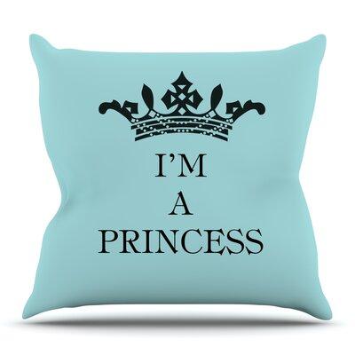 Im a Princess by Louise Machado Outdoor Throw Pillow