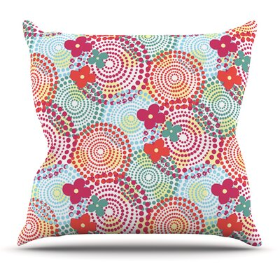 Balls by Louise Machado Outdoor Throw Pillow