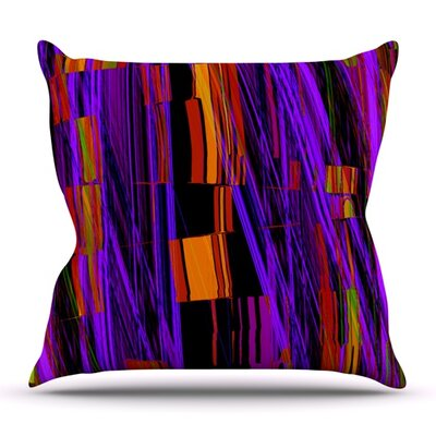 Threads by Nina May Outdoor Throw Pillow
