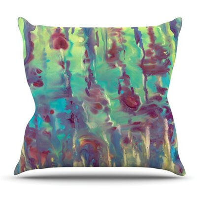 Splash by Rosie Brown Outdoor Throw Pillow