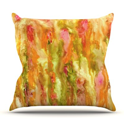 Walk in the Forest by Rosie Brown Outdoor Throw Pillow