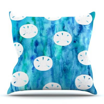 Sandollars by Rosie Brown Outdoor Throw Pillow