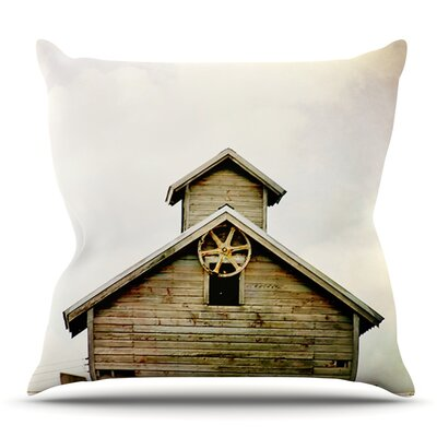 Barn Top by Angie Turner Outdoor Throw Pillow