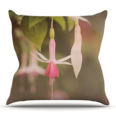 Fuchsia by Angie Turner Outdoor Throw Pillow