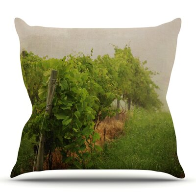 Grape Vines by Angie Turner Outdoor Throw Pillow