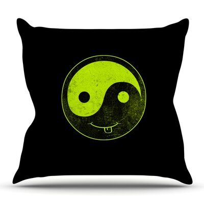Ying Yang by Frederic Levy-Hadida Outdoor Throw Pillow