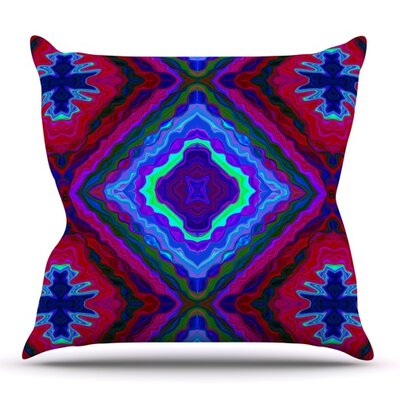 Kilim by Nina May Outdoor Throw Pillow