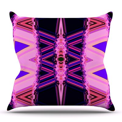 Decorama by Nina May Outdoor Throw Pillow